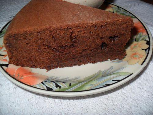 gâteau chocolat,crème vanille et cake chorizo 007