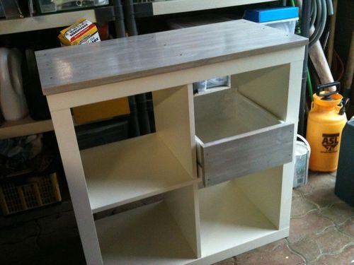 meuble ik a en cours de relookage kakinou cr ation. Black Bedroom Furniture Sets. Home Design Ideas