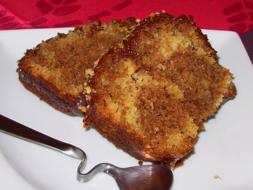 Cake marbré au praliné6