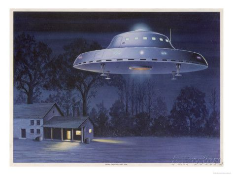 ufo-with-classic-domed-disk-and-four-piece-landing-gear