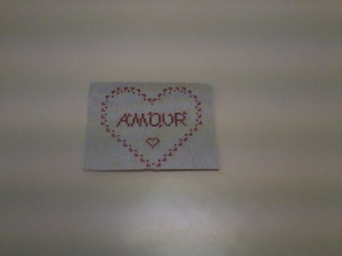 ATC Amour pour Marrie-christine