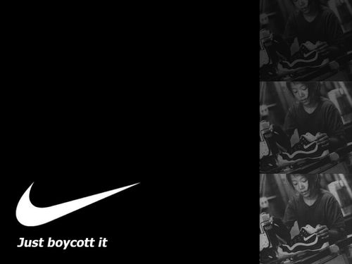 Just boycott it by Adbusters