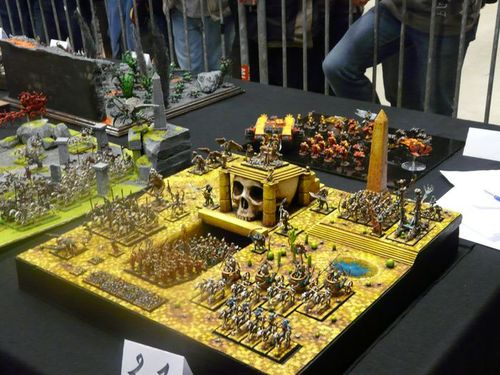 armies on parade - table roi des tombes