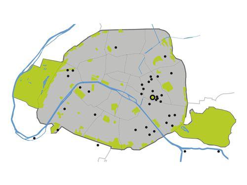 Carte réalisations jardins & balcons - Silvère Doumayrou
