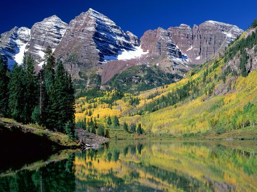 Maroon-Bells-WHITE RIVER-National-Forest-Colorado