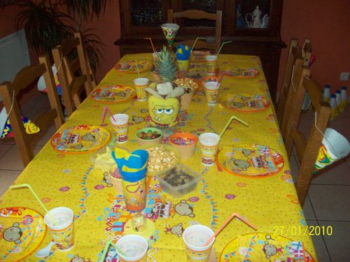 Deco de fete le blog de gaellelecolo - Decoration de table anniversaire 60 ans ...
