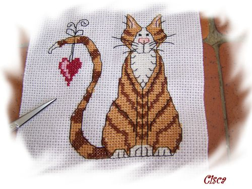broderie chat 2