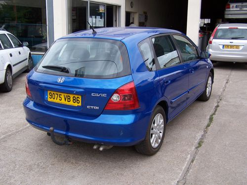 Honda civic 1 7 cdti es 100 plan te auto for Garage audi niort