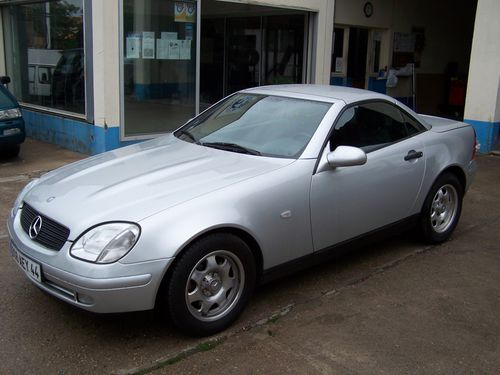 Mercedes slk 200 136 plan te auto for Garage audi niort