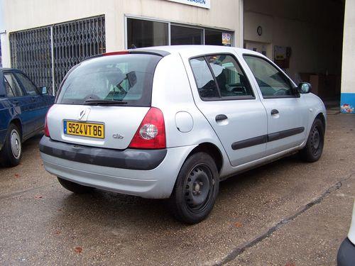 Clio arrière