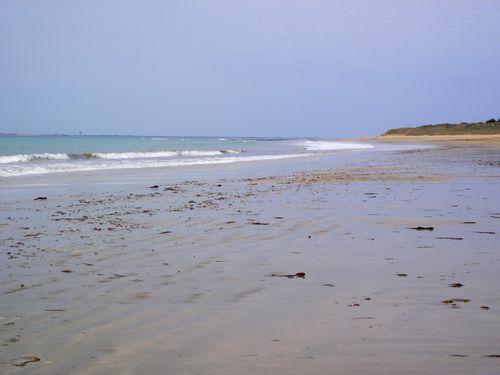 La plage de la Conche