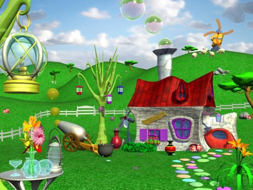 Maison cartoon projet n 1 mod lisation 3d heaj bubble for Projet maison 3d
