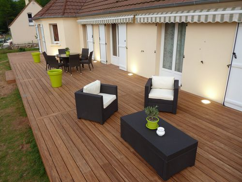 terrasse en bois au mans 72 en bambou france terrasse bois. Black Bedroom Furniture Sets. Home Design Ideas