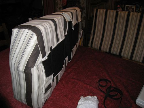recouvrir une banquette de camping car le blog de la passion de nade. Black Bedroom Furniture Sets. Home Design Ideas