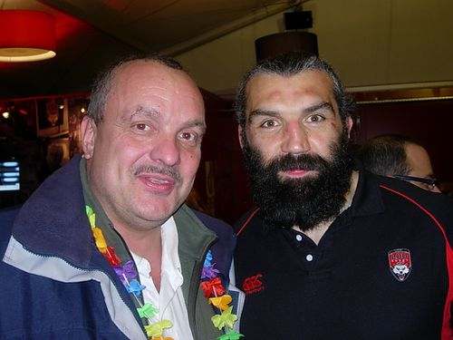 Laurent Thollon et Sébastien Chabal(1)