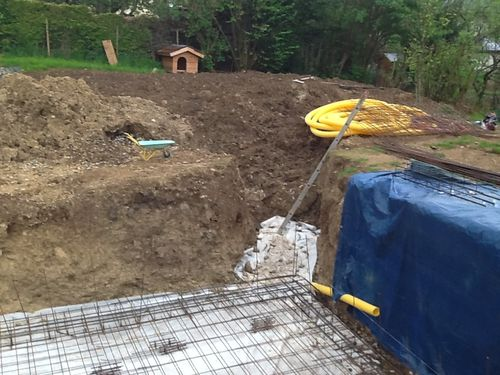 Le blog de samy73 r cit de la construction d 39 une maison for Construction piscine zone agricole