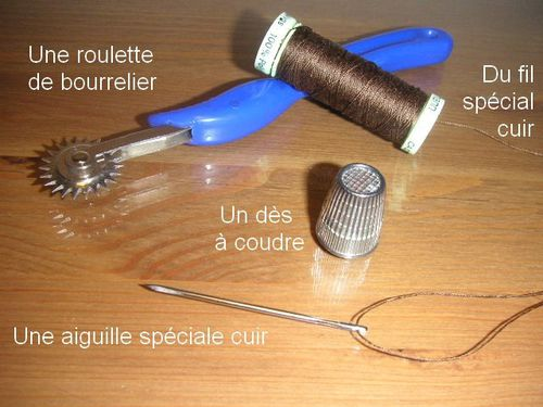 Outils cuir