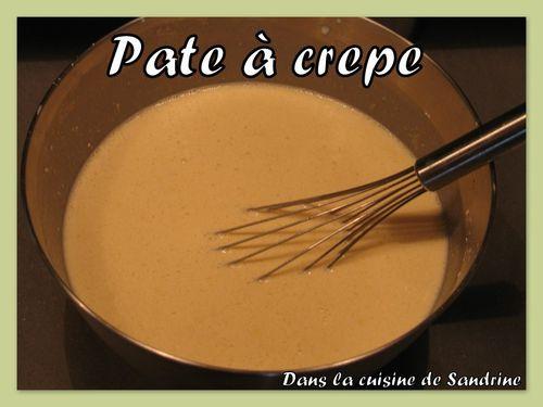 Pate a crêpe inratable - Dans la cuisine de Sandrine