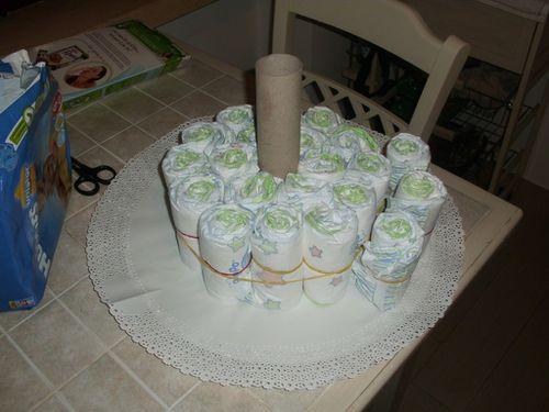 Torta pannolini 4