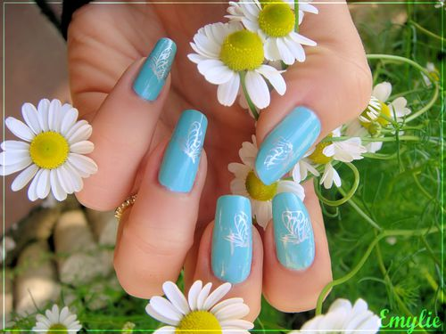 for audrey nail art