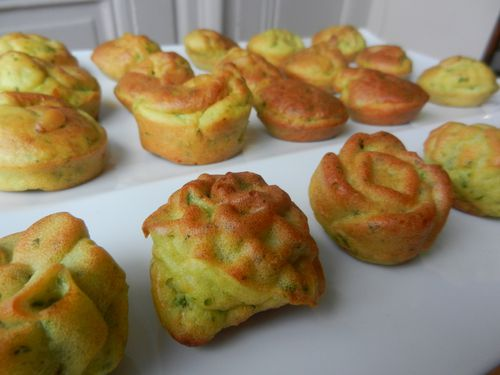 Mini Cake Pesto Basilic