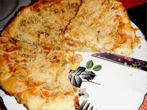 Tarte aux poireaux et lardons 2