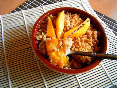 crumble mangue 2