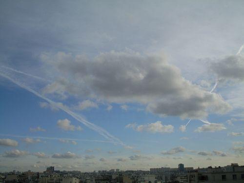 ciel du 10 janvier 2011