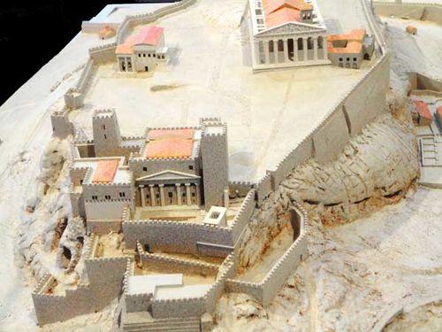890c5b Acropole vers 1500 après JC