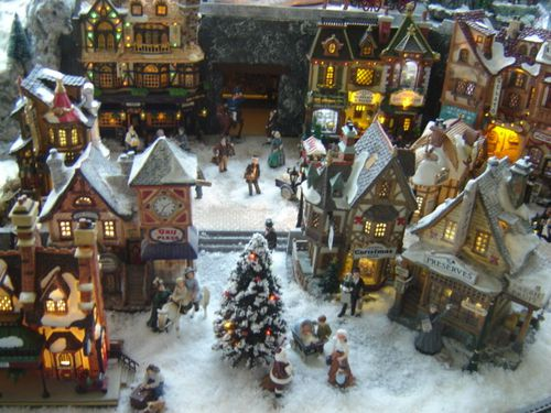Village de no l 2010 les villages miniatures de no l de lalie - Village de noel miniature ...