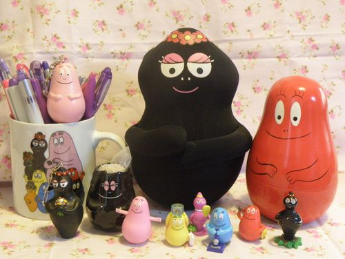 collection de barbapapa