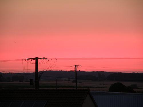 5h45!!levé du soleil!Juin 2011
