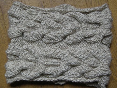 snood torsades Jan 2011