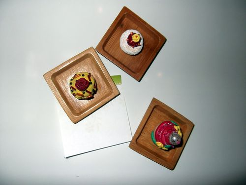 Cupcakes-magnets
