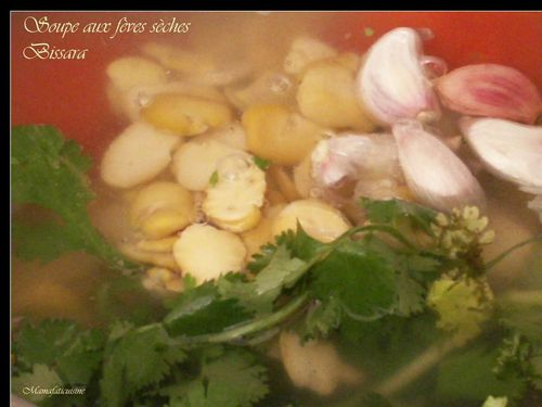 soupe aux feves seches mamafati