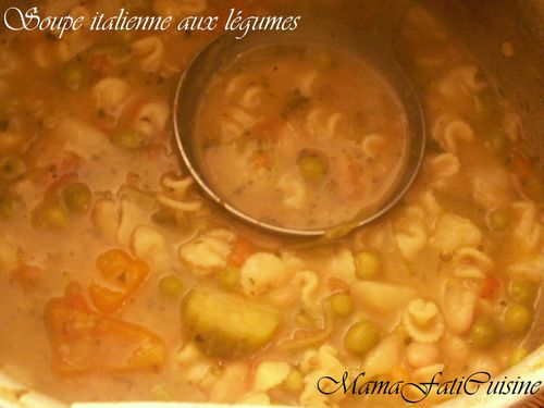 soupe lina italienne