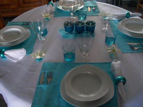 table turquoise 002