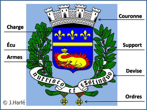 les armoiries de vitry-le-françois - j'habite vitry & ses environs