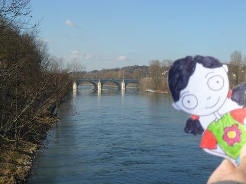 (11) Tours, la Loire et le pont de pierre
