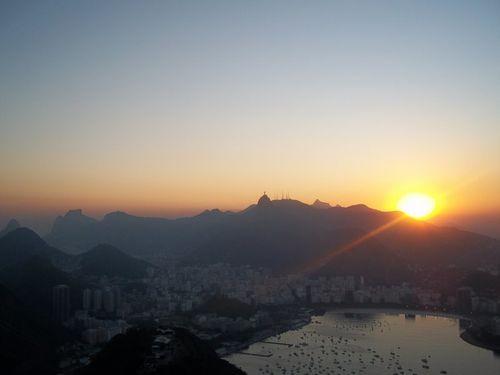 1 Rio - Baie de Rio au coucher