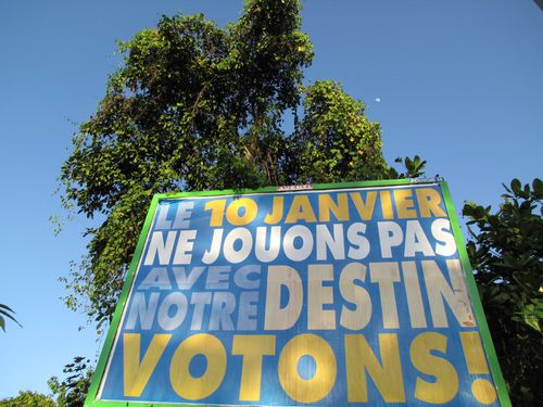affiche consultation statut martinique