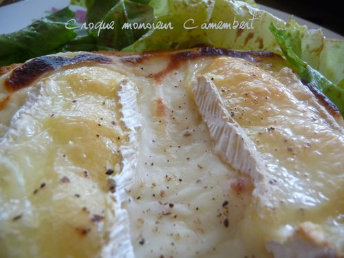 Croque monsieur camembert3