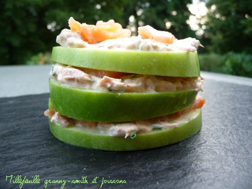 Millefeuille granny smith4