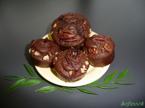 muffin chocobanoix