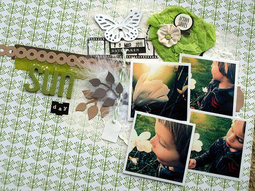 Sun Day (détails)-challenge carnet de scrap-Tagali19