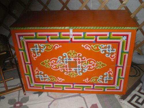 La mongolie le blog de jubama for Meuble yourte