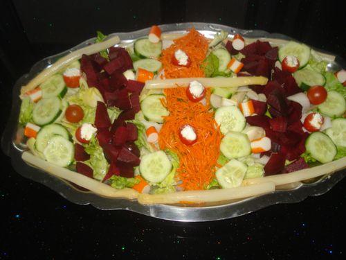 petite salade compos e le blog de oum hamza. Black Bedroom Furniture Sets. Home Design Ideas
