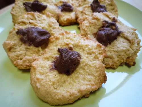 cookies peanut butter nutella