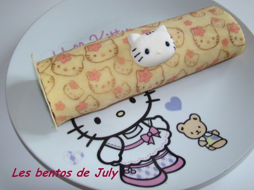 biscuit roulé Hello Kitty