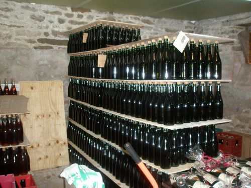 Stockage bouteilles